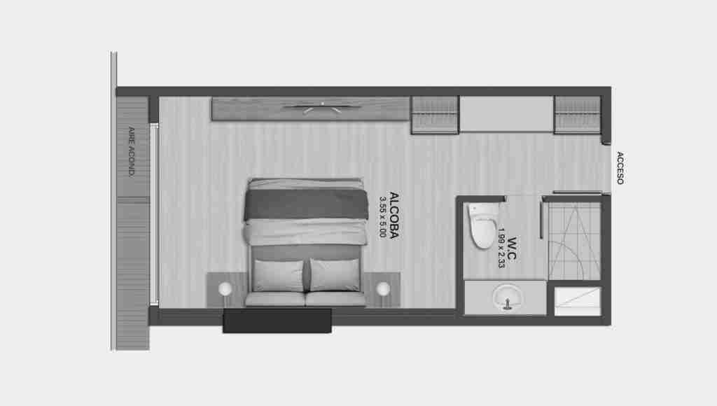 Suite 28 m2